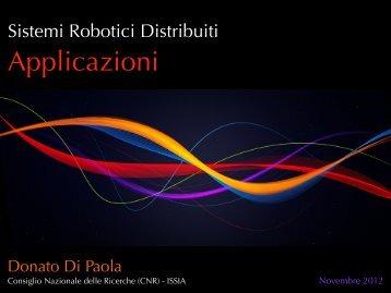 Sistemi Robotici Distribuiti - CNR
