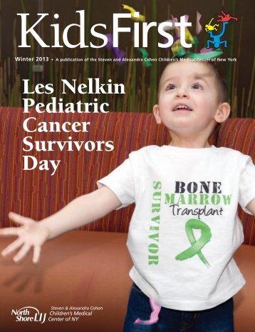 Les Nelkin Pediatric Cancer Survivors Day - North Shore-LIJ Health ...