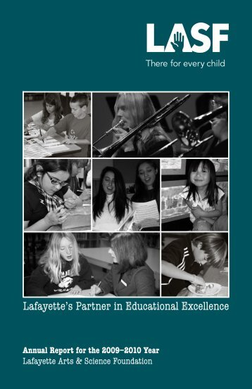 Lafayette's Partner in Educational Excellence - Lafayette Partners in ...