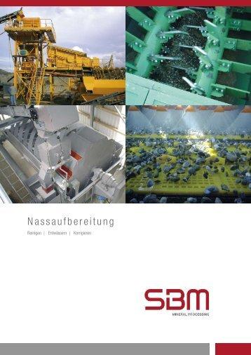 Nassaufbereitung - SBM Mineral Processing