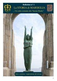 1-Storia de Marsiglia (I) Bollettino n°1 - Arte Mistica 2013
