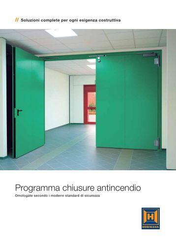 Hörmann Programma Chiusure Antincendio - Castellari-Porte ...