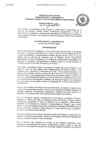 No 27304-B Gaceta Oficial Digital, viernes 7 de junio de 2013 1