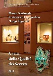 Carta per la qualità dei servizi - Museo Nazionale Preistorico ...