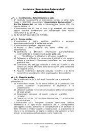 Download statuto - Associazione Endometriosi