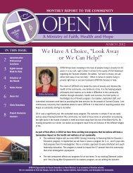 March 2012 - Open M