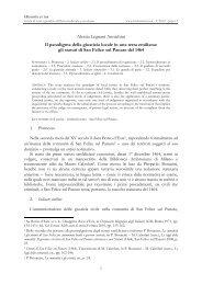 gli statuti di San Felice sul Panaro del 14 - Historia et Ius