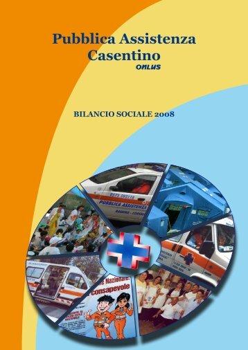 Bilancio sociale - Pubblicaassistenzacasentino.it