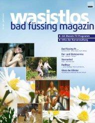 wasistlos badfüssing magazin - Ausgabe Juni 2010