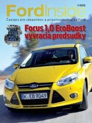 Stiahnite si časopis Ford Inside 01/2012 vo formáte PDF