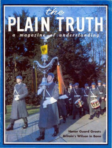 Plain Truth 1967 (Prelim No 04) Apr - Herbert W. Armstrong
