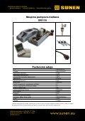 Katalóg výrobkov SUNEN – ploché kolektory a doplnky - sunen.eu - Page 5