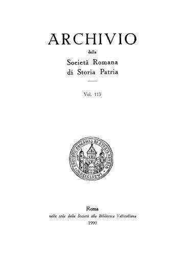 S. Maria in Via Lata. L'importanza di un fondo archivistico ... - KOBRA