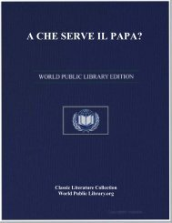 A CHE SERVE IL PAPA? - World eBook Library