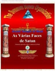 As Várias Faces de Satan - Ordo Svmmvm Bonvm