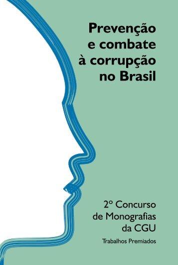 Prevenção e combate à corrupção no Brasil - Controladoria-Geral ...