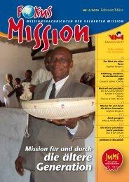 die ältere Generation - bei der Velberter Mission
