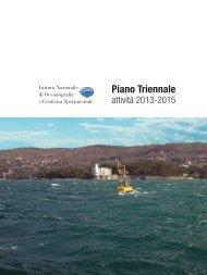 OGS piano triennale 2013-2015
