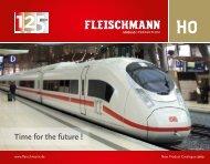 Time for the future ! - Modellismo ferroviario