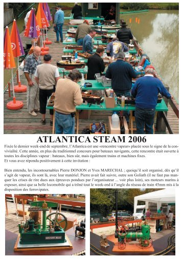 ATLANTICA STEAM 2006 - Anton