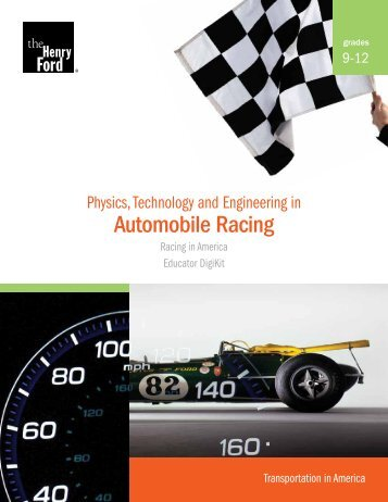 Physics, Technology and Engineering in Automobile Racing