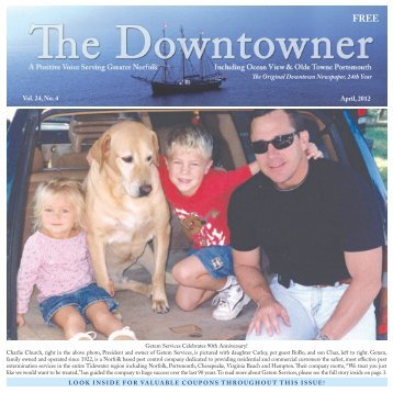 The Original Downtown Newspaper, 24th Year ... - The Downtowner