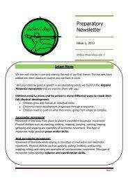 Prep Issue 1 2013 Newsletter - Archers College