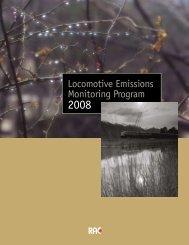 Locomotive Emissions Monitoring Program 2008 - Transports Canada