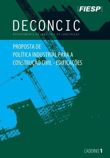 proposta de política industrial para a construção civil ... - Fiesp