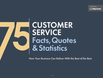 5Customer serviCe Facts,Quotes & statistics