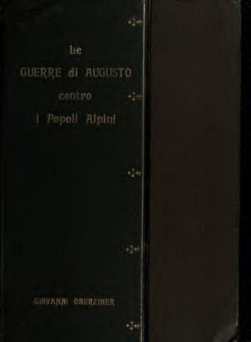Le guerre di Augusto contro i popoli Alpini - mura di tutti