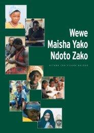 Wewe Maisha Yako Ndoto Zako - Family Care International