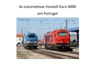 As Locomotivas Vossloh Euro 4000 em Portugal - Portugal Ferroviário