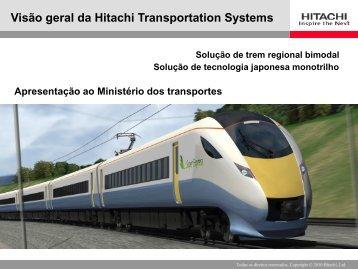 Monotrilho - Ministério dos Transportes
