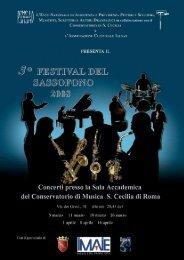 pdf (1Mb) - Festival del Sassofono