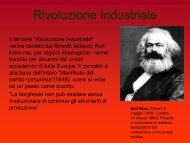 Rivoluzione Industriale - Liceo Scientifico A.Bafile