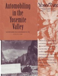 Automobiling in the Yosemite Valley: Adventuring ... - Yosemite Online