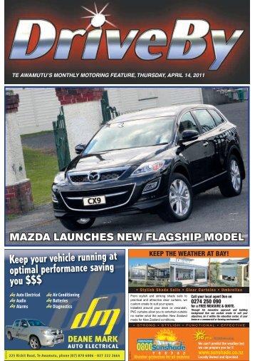 Mazda launches new flagship model - Te Awamutu Online