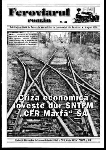 """""""Feroviarul Român"""" în format PDF - FML"""