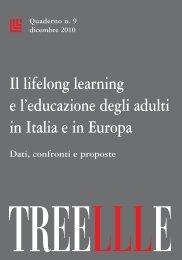 Il lifelong learning e l'educazione degli adulti in Italia e in Europa