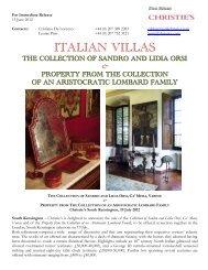 ITALIAN VILLAS - Christie's