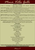 download Menu PDF - Villa Galli - Page 5