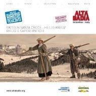Prospekt der Gourmet Ski Tour Heilig Kreuz (PDF ... - Alta Badia