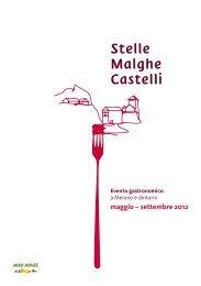 Stelle Malghe Castelli - Meraner Land