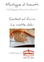pdf_farro_dolci - Montagne di biscotti