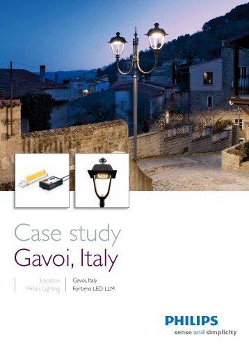 Download PDF 'Case study Gavoi, Italy' - Philips Lighting