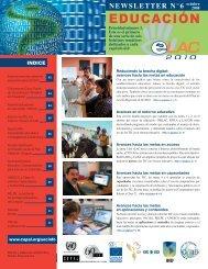 TIC y educación - Cepal
