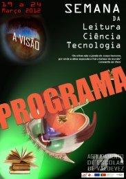 Consulte aqui o programa - Agrupamento de Escolas de Valdevez
