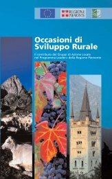 Occasioni di Sviluppo Rurale - Regione Piemonte
