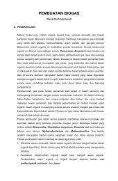PEMBUATAN BIOGAS - File UPI